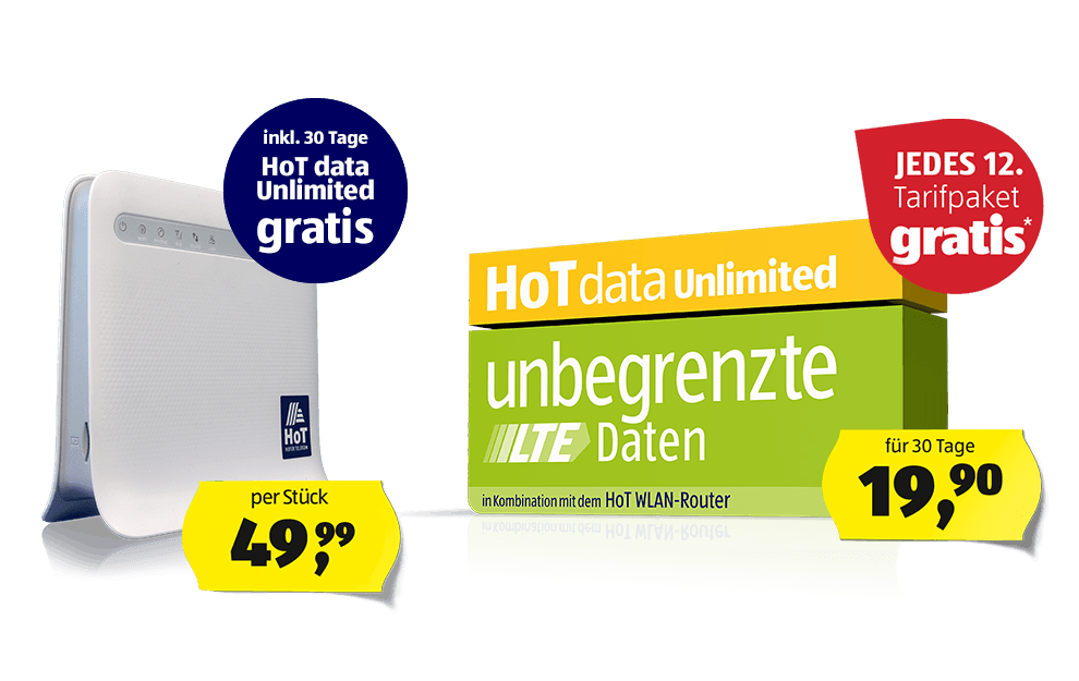 HoT data Unlimited